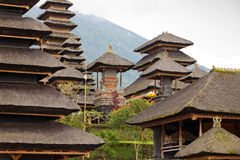 Mother temple in Bali. View of Mother Temple in Besakih in Bali, Indonesia Stock Photo