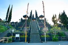 Mother Temple of Besakih Stock Image