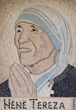 Mother Teresa foto de stock royalty free