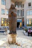 Mother Teresa monument in Shkoder, Albania Stock Photo