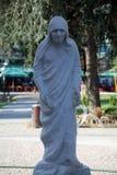 Mother Teresa monument in Skopje Royalty Free Stock Image