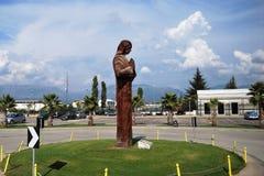 Mother Teresa sculpture Stock Photography