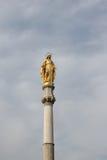 Mother Teresa Statue. In Zagreb, Croatia Stock Image