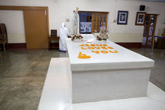 Mother Teresa tomb, Kolkata, India Stock Photography