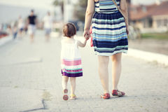 Mother and Toddler Stock Photography