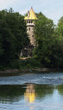 Mother tower (Mutterturm) in Landsberg Stock Photography