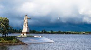 Mother Volga Stock Photography