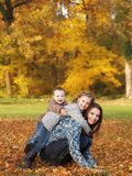 Mother witch children Stock Photography