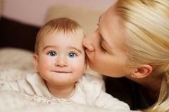 Mother With Baby. Royalty Free Stock Photo