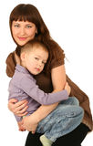 Mother With Little Son Stock Images