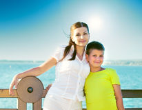 Mother with young son Royalty Free Stock Image