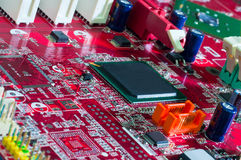 Motherboard_11203 Stock Image