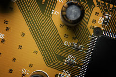 Motherboard, Royalty Free Stock Photography