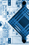 Motherboard royalty free stock image