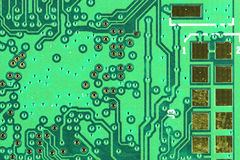 Motherboard achtergrond Stock Afbeeldingen