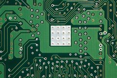 Motherboard background Stock Image