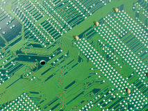 Motherboard circuit Stock Images