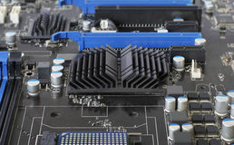 Motherboard circuit stock photography