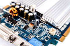 Motherboard, Royalty Free Stock Images
