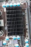 Motherboard componenten Royalty-vrije Stock Foto's
