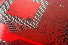 Motherboard computer Royalty Free Stock Photography