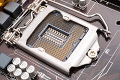 Motherboard CPU Socket Stock Images