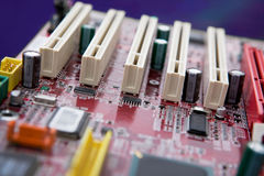Motherboard Detail Stock Image