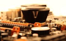 Motherboard details Stock Afbeelding