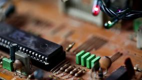 Motherboard Electronic hardware technology. Video