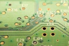 Motherboard Elektronische Kringen stock foto