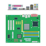 Motherboard icon Stock Images