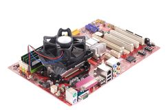 Motherboard. Stock Photography