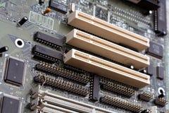 Motherboard kringen Royalty-vrije Stock Afbeelding