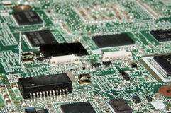 Motherboard (main board) Royalty Free Stock Photos