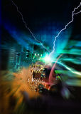 Motherboard PC Stockbild