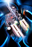 Motherboard PC Royalty Free Stock Photography