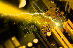 Motherboard PC Stockfoto