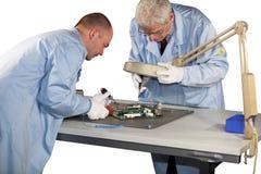 Motherboard repairs Stock Image
