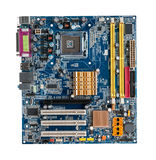 Motherboard's computer Stock Photo