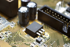 Motherboard's fragment Stock Images