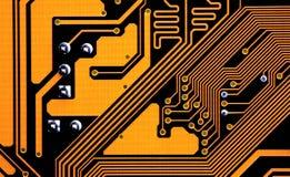 Motherboard van de computer Stock Foto