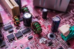 Motherboard van de computer Royalty-vrije Stock Fotografie