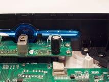 Motherboard van een apparaat Stock Foto