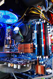 Motherboard at work Stock Images