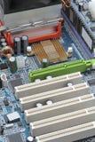 Motherboardkomponenten Stockbilder
