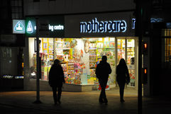 Mothercare Shop Stock Image