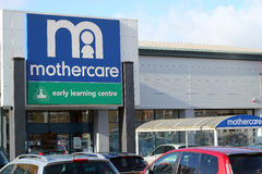 Mothercare store. Royalty Free Stock Images