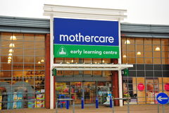 Mothercare Store front Stock Image