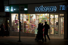 Mothercare Store Royalty Free Stock Images