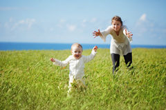 Motherhood Royalty Free Stock Photo